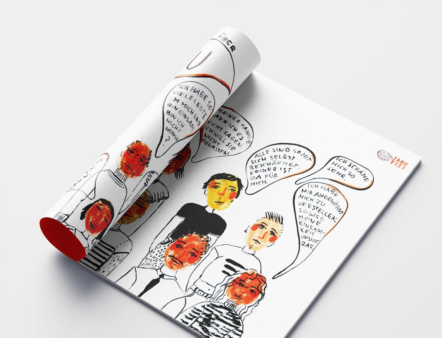 Editorial design and illustration