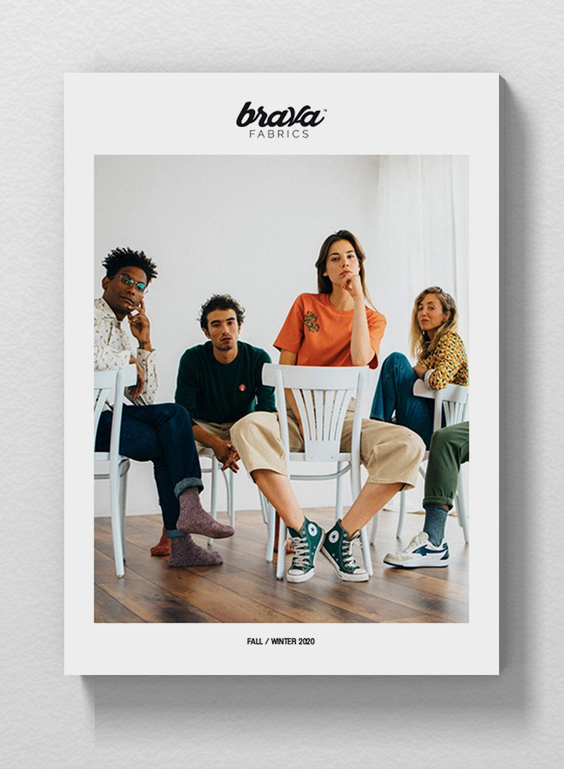 Catalogue for a Sustainable Fashion Brand